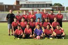 Newton-Conover Red Devils Boys Varsity Soccer Fall 18-19 team photo.