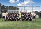 Clinton Dark Horses Boys Varsity Soccer Fall 18-19 team photo.