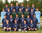 New Trier Trevians Boys Varsity Soccer Fall 18-19 team photo.