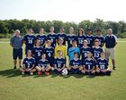 Hickory Ridge Ragin' Bulls Boys Varsity Soccer Fall 18-19 team photo.