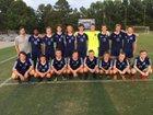 C.B. Aycock Golden Falcons Boys Varsity Soccer Fall 18-19 team photo.