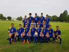 Elmer L. Meyers Mohawks Boys Varsity Soccer Fall 18-19 team photo.
