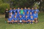 Bosque Bobcats Boys Varsity Soccer Fall 18-19 team photo.