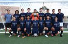 Santa Fe Demons Boys Varsity Soccer Fall 18-19 team photo.