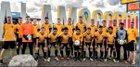 Alamogordo Tigers Boys Varsity Soccer Fall 18-19 team photo.