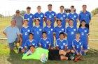 St. Michael's Horsemen Boys Varsity Soccer Fall 18-19 team photo.