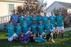 La Fargeville Knights Boys Varsity Soccer Fall 18-19 team photo.