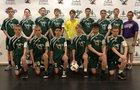 Evergreen Lutheran Eagles Boys Varsity Soccer Fall 18-19 team photo.