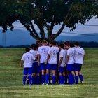 Heritage Academy Eagles Boys Varsity Soccer Fall 18-19 team photo.