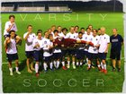 Dakota Ridge Eagles Boys Varsity Soccer Fall 18-19 team photo.