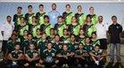 Farmington Scorpions Boys Varsity Soccer Fall 18-19 team photo.
