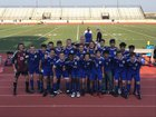 Grandview Wolves Boys Varsity Soccer Fall 18-19 team photo.