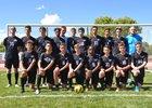 Sandia Prep Sundevils Boys Varsity Soccer Fall 18-19 team photo.