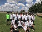 Valencia Jaguars Boys Varsity Soccer Fall 18-19 team photo.