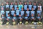 Comstock Colts Boys Varsity Soccer Fall 18-19 team photo.