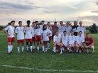 Calvary Christian Academy Knights Boys Varsity Soccer Fall 18-19 team photo.