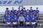 Carlsbad Cavemen Boys Varsity Soccer Fall 18-19 team photo.