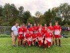 Groton Indians Boys Varsity Soccer Fall 18-19 team photo.