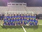 Robert C. Byrd Eagles Boys Varsity Soccer Fall 18-19 team photo.