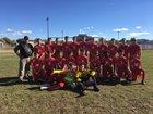Robertson Cardinals Boys Varsity Soccer Fall 18-19 team photo.
