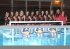 Carondelet Cougars Girls Varsity Water Polo Fall 14-15 team photo.