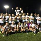 North Davidson Knights Girls Varsity Soccer Spring 16-17 team photo.