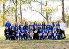 ESTEM Mets Girls Varsity Soccer Spring 16-17 team photo.