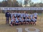 Goldsboro Cougars Girls Varsity Soccer Spring 16-17 team photo.
