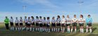 Roosevelt Roughriders Girls Varsity Soccer Spring 16-17 team photo.