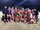 Piedmont Community Charter Patriots Girls Varsity Soccer Spring 16-17 team photo.