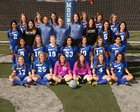 Rogers Mountaineers Girls Varsity Soccer Spring 16-17 team photo.
