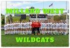 Millard West Wildcats Girls Varsity Soccer Spring 16-17 team photo.