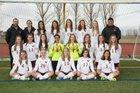 Windsor Wizards Girls Varsity Soccer Spring 16-17 team photo.