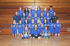 Johnsburg Skyhawks Girls Varsity Soccer Spring 16-17 team photo.
