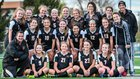 Minooka Indians Girls Varsity Soccer Spring 16-17 team photo.