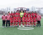 Springdale Bulldogs Girls Varsity Soccer Spring 16-17 team photo.