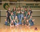 Hope Christian Huskies Girls Freshman Volleyball Fall 18-19 team photo.
