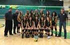 Mayfield Trojans Girls Freshman Volleyball Fall 18-19 team photo.