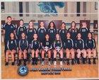 Otay Ranch Mustangs Girls Freshman Volleyball Fall 18-19 team photo.