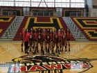 Centennial Hawks Girls Freshman Volleyball Fall 18-19 team photo.