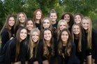 Gilbert Tigers Girls Freshman Volleyball Fall 18-19 team photo.