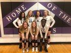 Mascoutah Indians Girls Freshman Volleyball Fall 18-19 team photo.