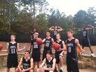 Trinity Christian Lions Boys Varsity Basketball Winter 14-15 team photo.