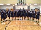 High Point Christian Academy Cougars Boys Varsity Basketball Winter 14-15 team photo.