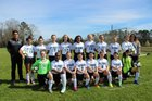 Grace Christian Crusaders Girls Freshman Soccer Spring 18-19 team photo.