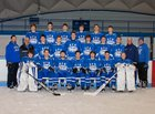 Ogdensburg Free Academy Blue Devils Boys Varsity Ice Hockey Winter 17-18 team photo.