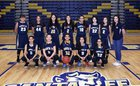 Santa Fe Demons Girls Freshman Basketball Winter 17-18 team photo.