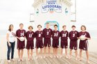 Laguna Beach Breakers Boys Freshman Volleyball Spring 17-18 team photo.