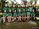 Thousand Oaks Lancers Boys Freshman Volleyball Spring 17-18 team photo.