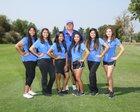 Mountain House Mustangs Girls Varsity Golf Spring 18-19 team photo.
